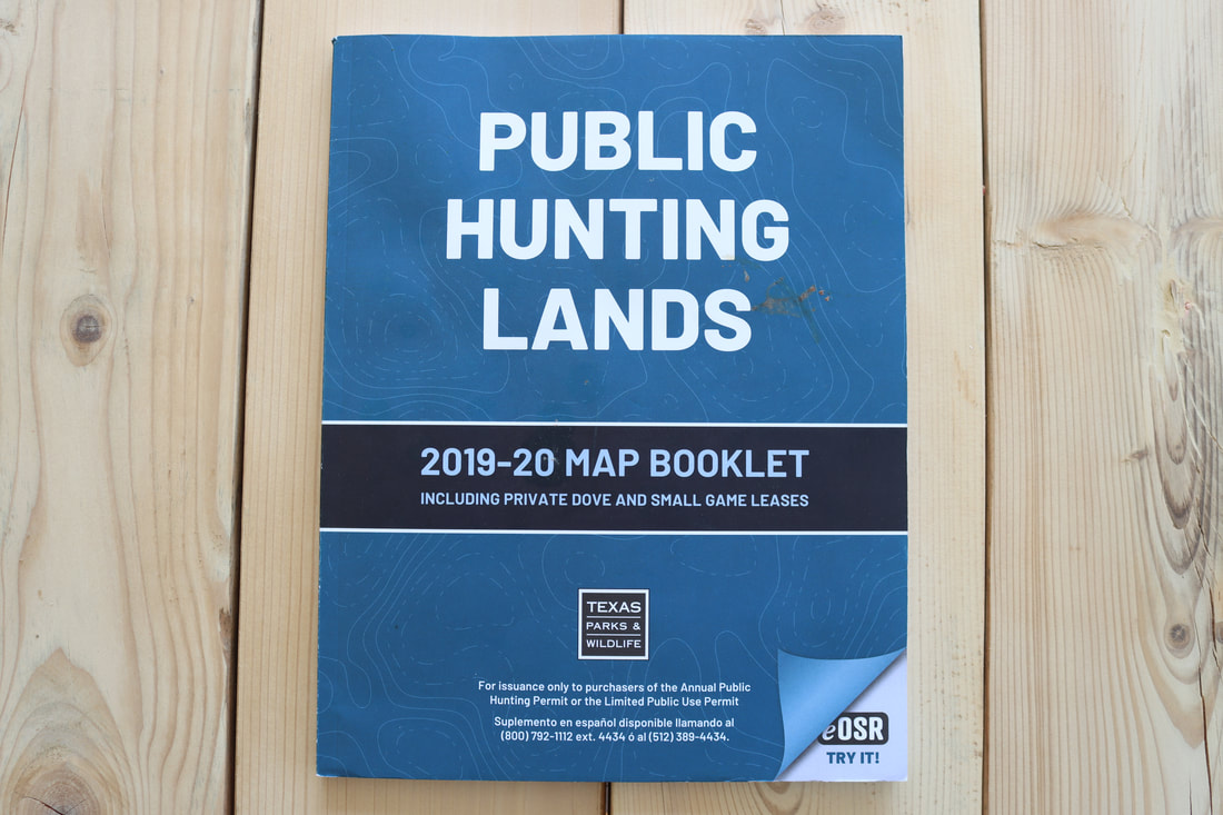 Picture of The Texas Parks & Wildlife Public Hunting Lands Map Booklet